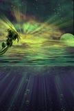 Sotto i tropici dell'acqua illustrazione di stock