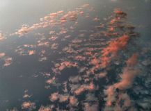 Sotto il cielo Fotografia Stock