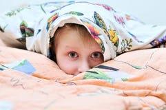 Sotto il cuscino Fotografia Stock
