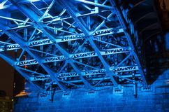Sotto il ponte Immagini Stock