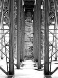 Sotto il ponte Fotografia Stock Libera da Diritti
