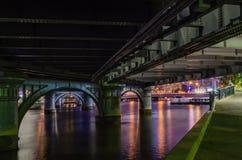 Sotto il ponte del Queens Fotografia Stock