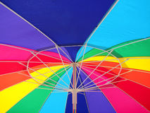 Sotto il Rainbow Fotografia Stock