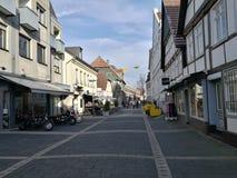 Sotto il Sun del ` s della città di Recklinghausen Immagini Stock