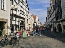Sotto il Sun del ` s della città di Recklinghausen Immagini Stock Libere da Diritti