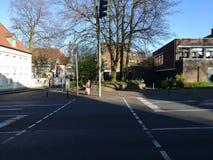Sotto il Sun del ` s della città di Recklinghausen immagine stock libera da diritti