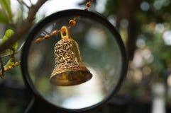 Sotto il vetro di sguardo Fotografie Stock Libere da Diritti