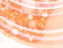 Sotto l'arancio - illustrazione Fotografie Stock