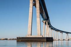 Sotto l'itinerario 75 dello stato del ponte di Coronado Immagini Stock
