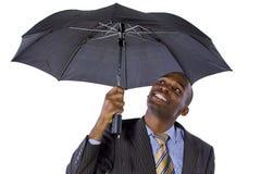 Sotto l'ombrello Fotografia Stock