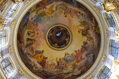 Sotto la cupola Fotografia Stock Libera da Diritti