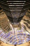 Sotto la cupola di Reichstag Fotografia Stock Libera da Diritti