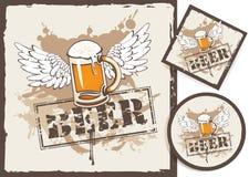 Sottobicchieri della birra Immagini Stock
