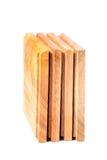 Sottobicchieri di legno Immagini Stock Libere da Diritti