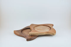 Sottobicchieri di legno Immagine Stock Libera da Diritti
