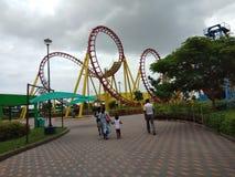 Sottobicchieri di Rolloar, parco a tema di wanderla haidarabad fotografia stock