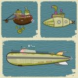 Sottomarini Immagini Stock