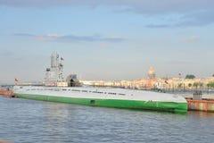 Sottomarino C-189 del progetto 613 Immagine Stock