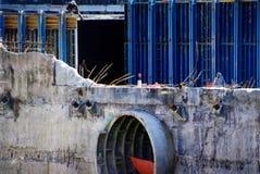 Sottopassaggio al ground zero New York. Fotografia Stock