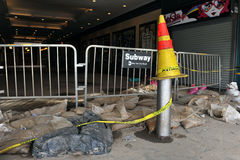 Sottopassaggio chiuso nell'isola di Coney Fotografie Stock Libere da Diritti