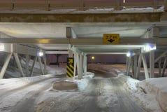 Sottopassaggio dello Snowy Immagine Stock Libera da Diritti