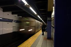 Sottopassaggio di New York Fotografie Stock