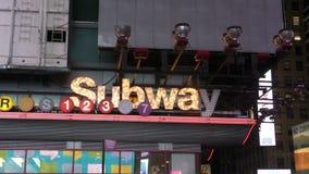 Sottopassaggio di New York City stock footage