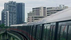 Sottopassaggio di Singapore stock footage