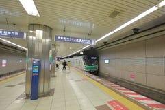 Sottopassaggio Tokyo sotterranea Giappone immagine stock