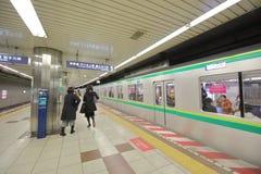 Sottopassaggio Tokyo sotterranea Giappone immagini stock