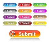 Sottoponga i bottoni Immagini Stock