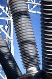 Sottostazione elettrica Fotografia Stock Libera da Diritti
