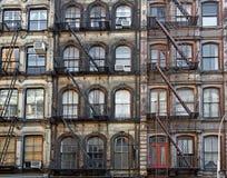 Sottotetti di Manhattan Immagine Stock