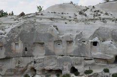 Sottotetti di piccione, Rose Valley rossa, Goreme, Cappadocia, Turchia Immagine Stock Libera da Diritti