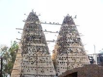 Sottotetto di piccione Immagini Stock Libere da Diritti