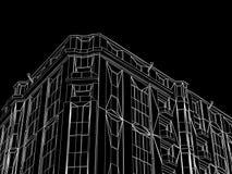 Sottragga i cenni storici di architettura. royalty illustrazione gratis