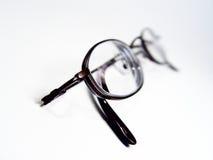 Sottragga i vetri di lettura fotografie stock libere da diritti