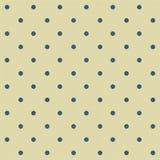 Sottragga il backgr senza giunte geometrico del puntino di Polka Fotografia Stock