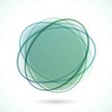 Sottragga il blocco per grafici del cerchio Fotografia Stock