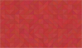 Sottragga il 2D fondo rosso geometrico Fotografie Stock Libere da Diritti