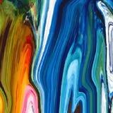 Sottragga il fondo colorato, simile alle pitture rovesciate Fotografia Stock Libera da Diritti