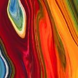 Sottragga il fondo colorato, simile alle pitture rovesciate Fotografie Stock