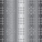 Sottragga il fondo di griglia del metallo Fotografia Stock