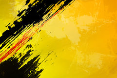 Sottragga il giallo Immagine Stock