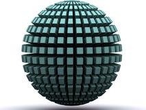 Sottragga il globo illustrazione di stock