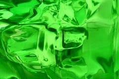 Sottragga il verde Fotografia Stock