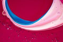 Sottragga l'arte fluida Fotografia Stock Libera da Diritti