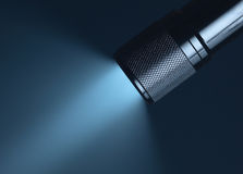 Sottragga l'indicatore luminoso nella nerezza immagini stock