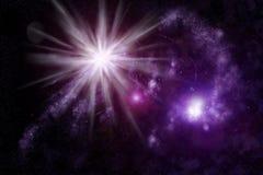 Sottragga l'universo - nebulosa dello spazio Fotografia Stock Libera da Diritti