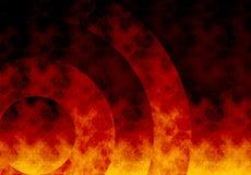 Sottragga la priorità bassa del fuoco Immagine Stock